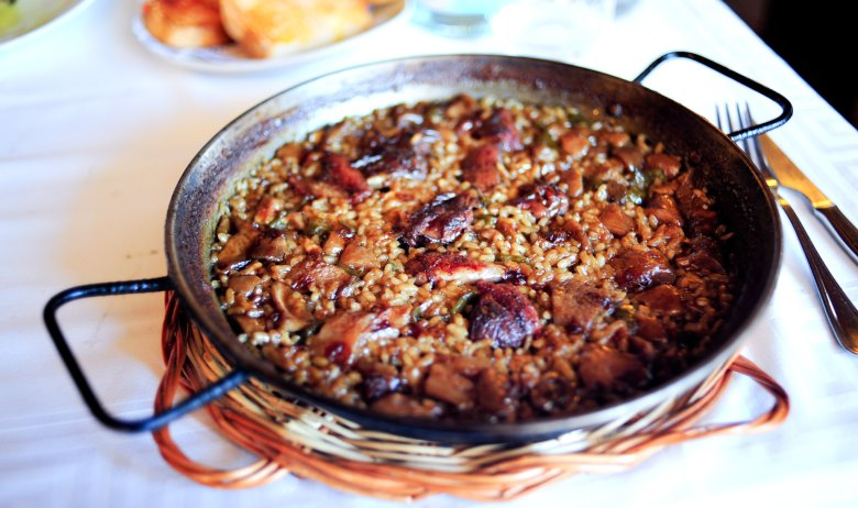 Arroz de Colomi i Ceps