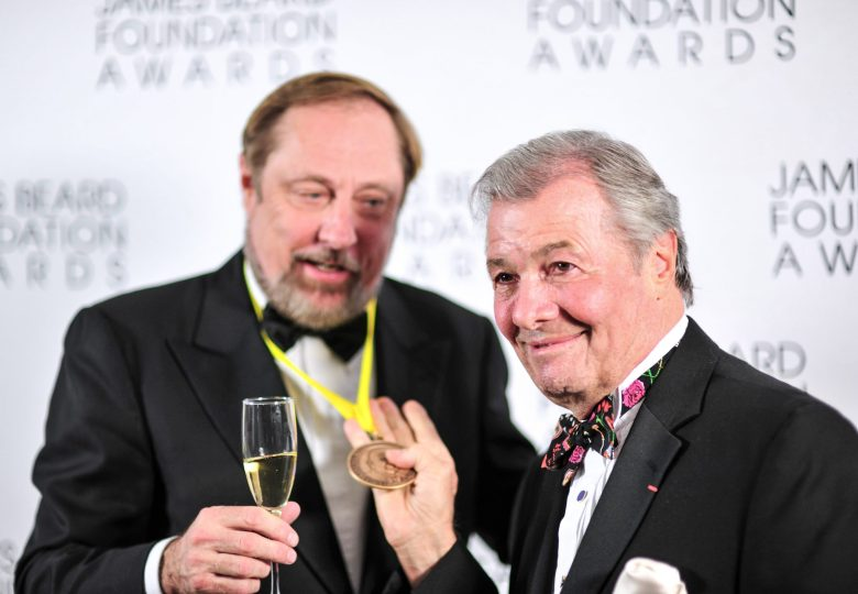 Jacques Pepin and Kevin Zraly
