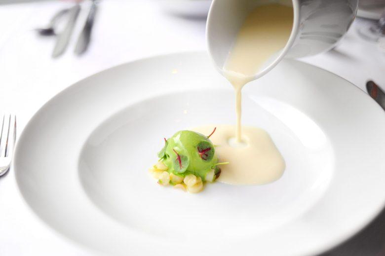 2nd Course: White Asparagus