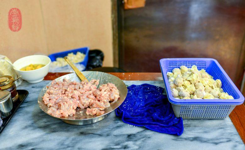 Shrimp wantons.