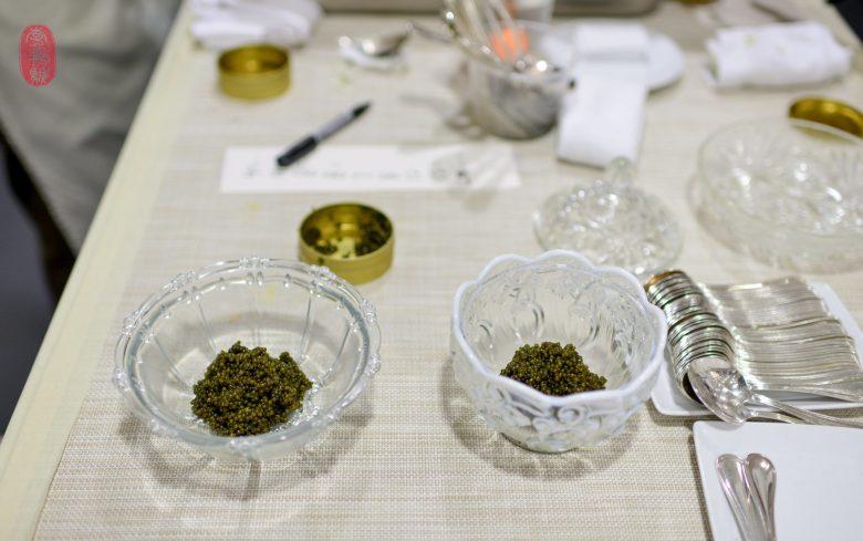 2nd Course: Saison Reserve Caviar