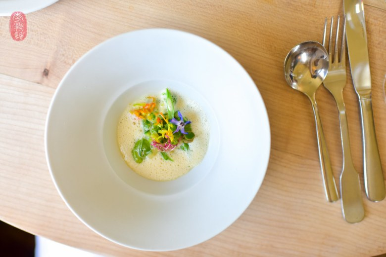 2nd Course: Cream of Vegetable Soup