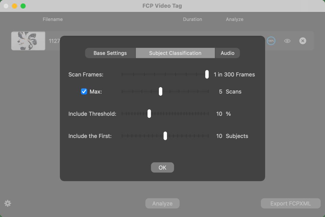 FCP Video Tag