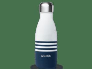 Bouteille isotherme 26 cl Marinière bleue – Qwetch