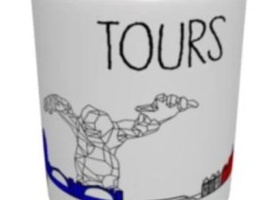 Mug Tours Couleur – Drawing the city