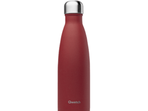 Bouteille isotherme 50 cl rouge granite – Qwetch