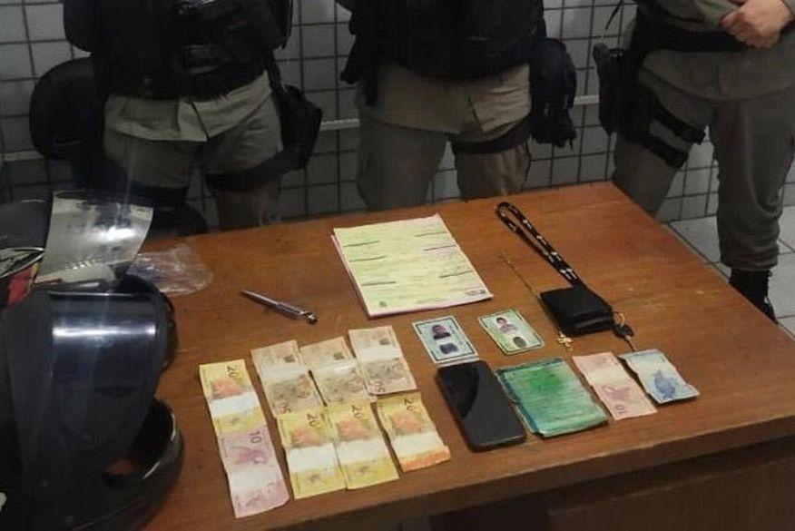 Dupla é presa suspeita de assaltar mercadinho em Guarabira