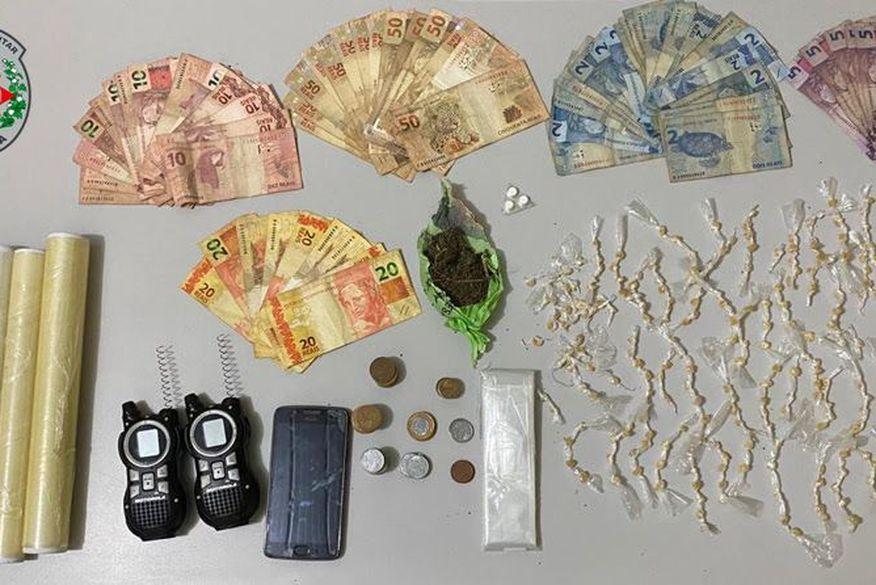 Polícia desarticula ponto de tráfico de drogas em Alhandra