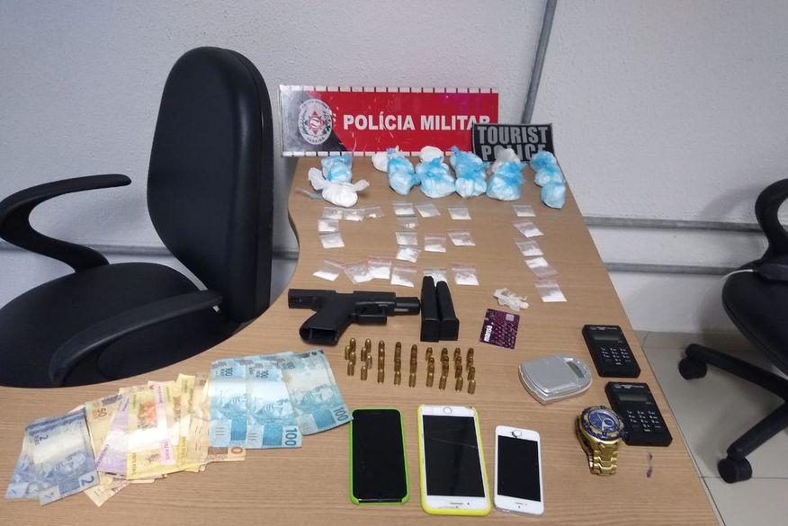 Polícia prende suspeito de comandar o tráfico de drogas do Bairro São José, em João Pessoa