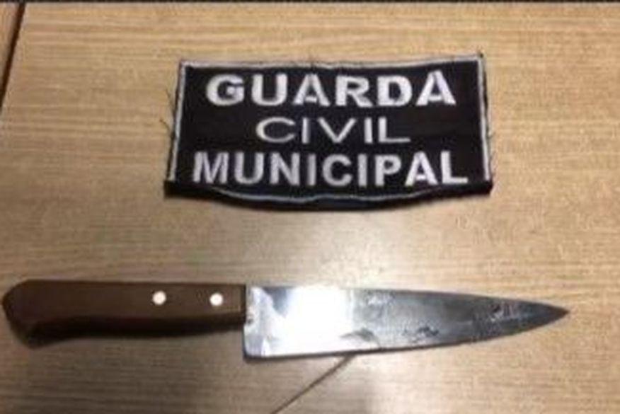 Homem fica ferido após tentar esfaquear Guarda Municipal em João Pessoa