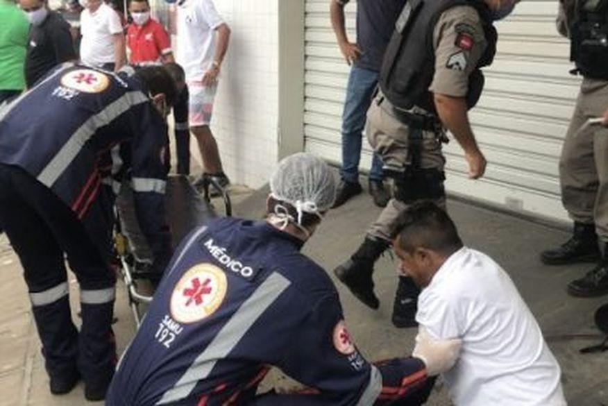 Homem é baleado na cabeça durante assalto em Cajazeiras