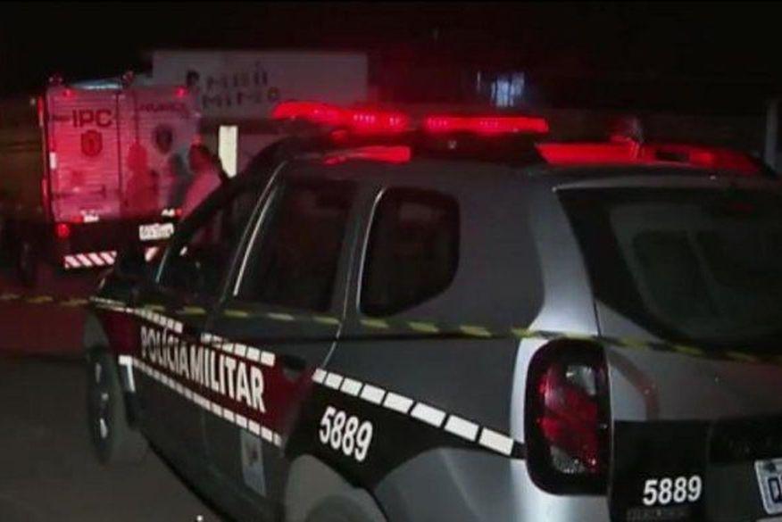 Homem é morto no momento que bebia perto de sua casa, em Santa Rita