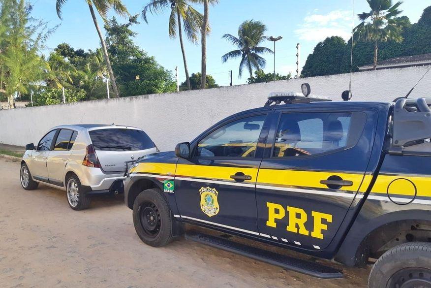 Homem é preso pela PRF na Paraíba por adulterar a placa do próprio veículo