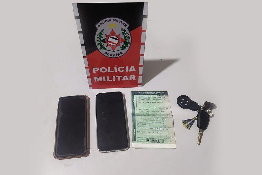 Grupo suspeito de praticar assaltos é preso em rodovia da Paraíba
