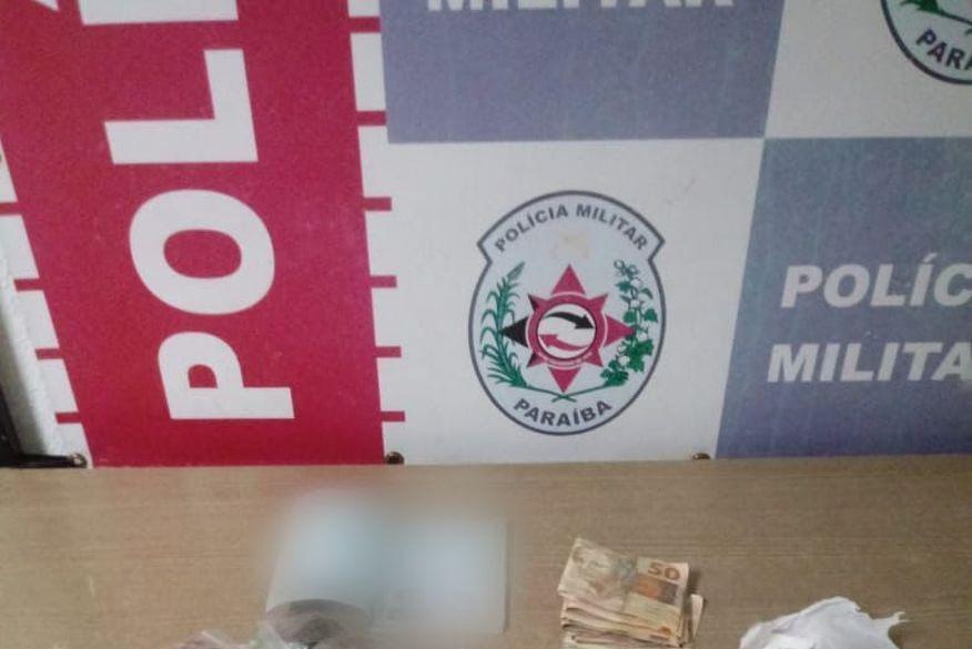 Suspeito de tráfico de drogas é preso em comunidade de João Pessoa