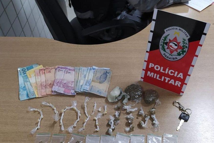 Polícia apreende drogas em dois bairros da cidade de Bayeux