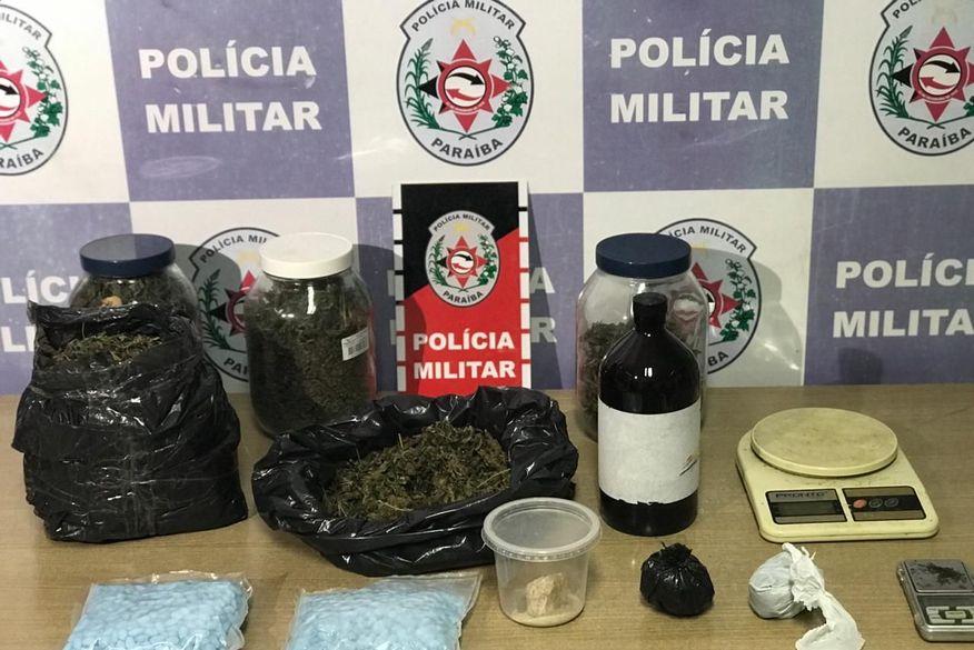 Polícia Militar apreende drogas no bairro dos Bancários