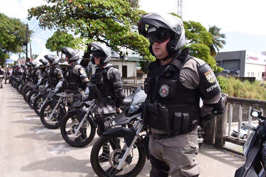 Em um ano, Batalhão de Policiamento com Motocicletas prende mais de 480 suspeitos de crimes e apreende 104 armas