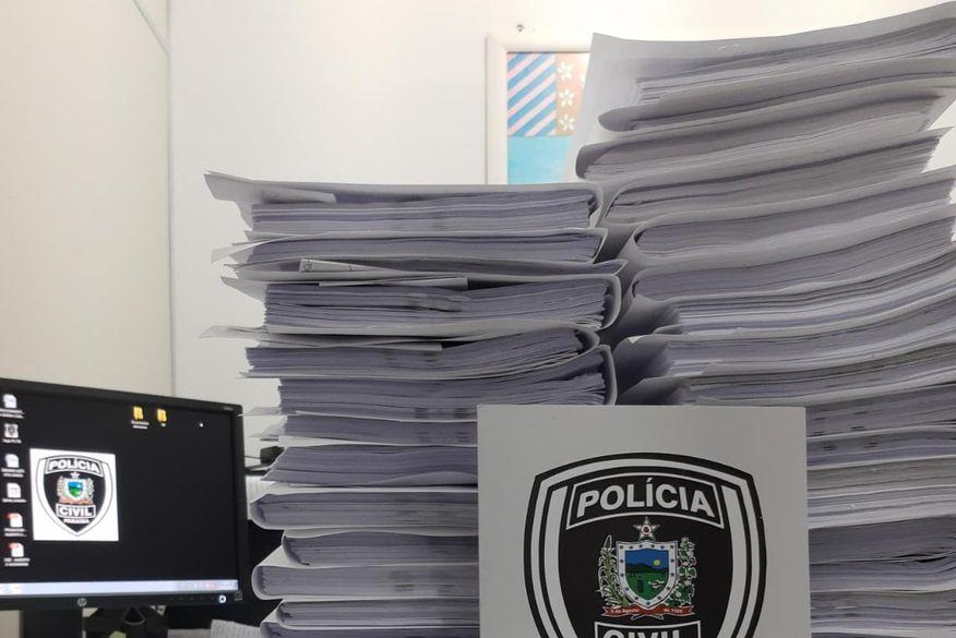 Polícia Civil envia à Justiça 23 inquéritos que apuram possível golpe imobiliário com prejuízo estimado em mais de R$ 1 milhão em Campina Grande