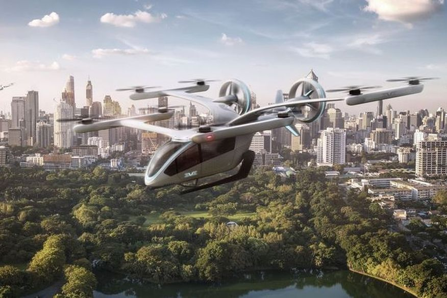 Empresa brasileira apresenta protótipo de carro voador elétrico; confira