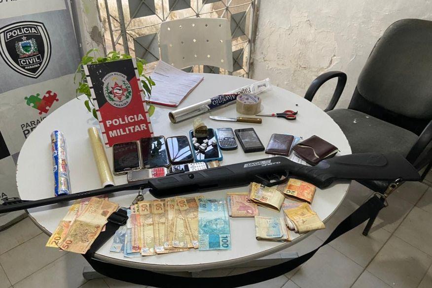 Polícia prende suspeitos de tráfico de drogas na cidade de Sousa