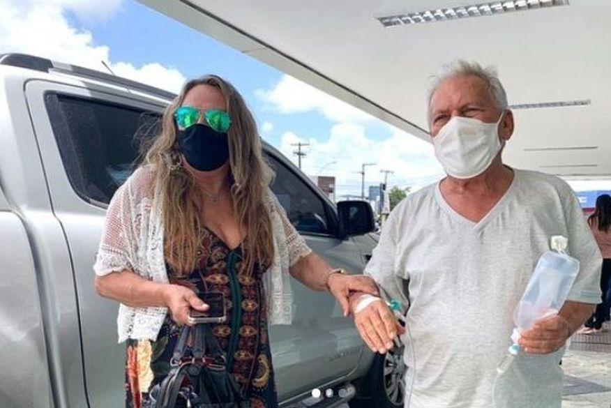 Prefeito José Aldemir embarca em avião com UTI móvel para ser transferido até São Paulo em tratamento contra Covid-19