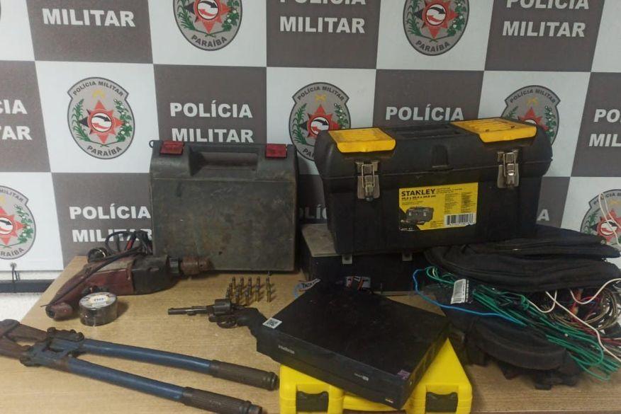Suspeito de furtar ferramentas em locais de construção é preso em João Pessoa
