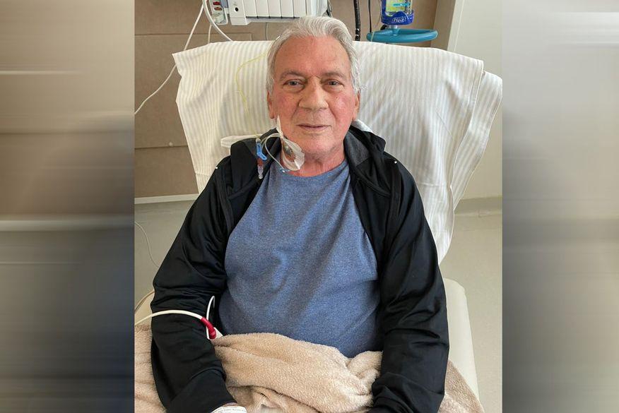 José Aldemir dá sinais de melhora, segue monitorado e faz fisioterapia
