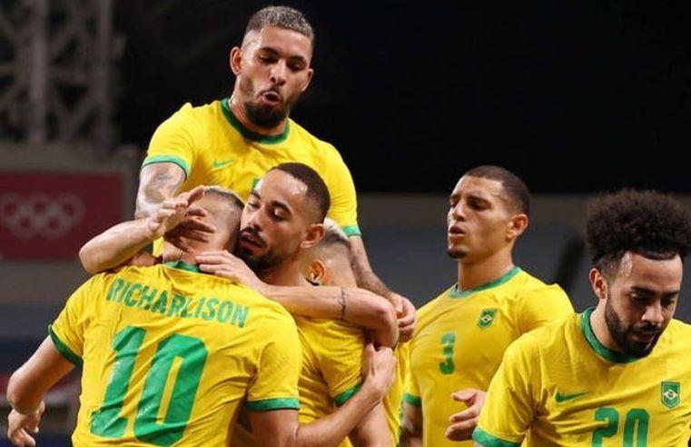 Goleiro paraibano defende cobrança de pênalti e Brasil se classifica pra final nas Olimpíadas