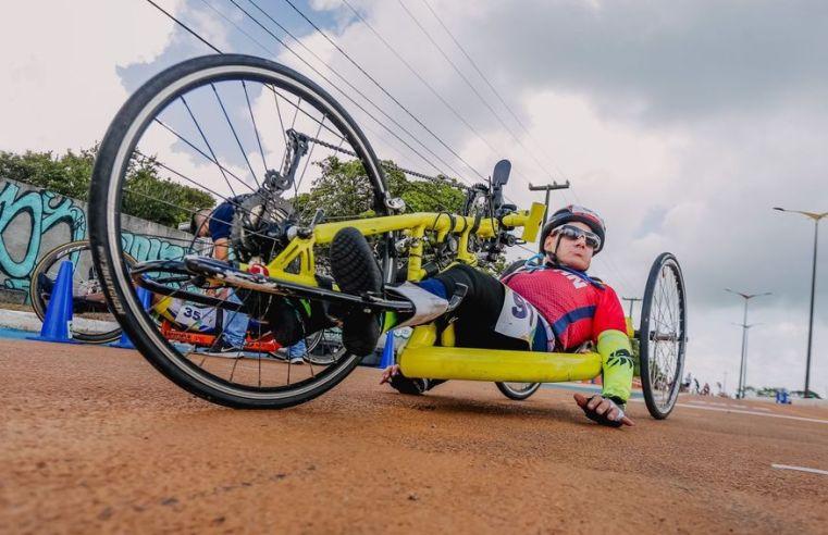 Copa Brasil de Paraciclismo é iniciada em João Pessoa e conta com a participação de 80 atletas