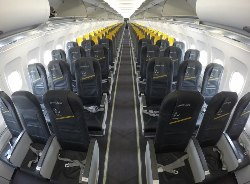 Cabina Airbus 320 Vueling