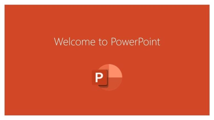 Welcome to PowerPoint min