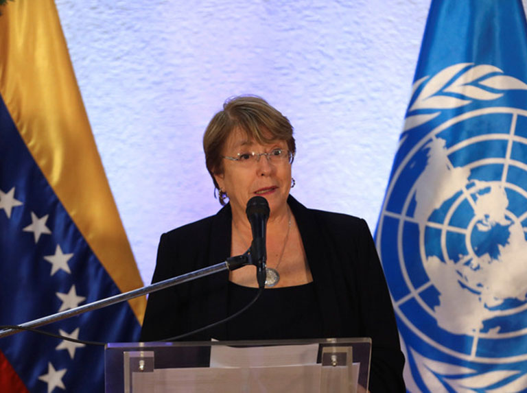 Bachelet reconoció labor del Ministerio Público en la defensa de DDHH