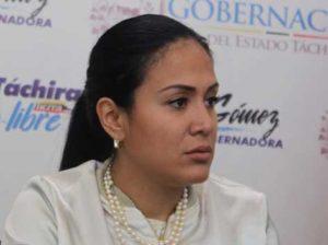 Consejo Legislativo del Táchira solicitará destitución de Laidy Gómez