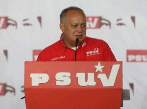 Diosdado Cabello da positivo a covid-19