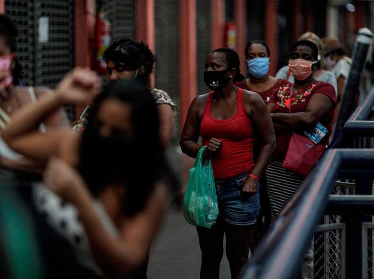 Trabajadores de Brasil denuncian falta de protección ante covid-19