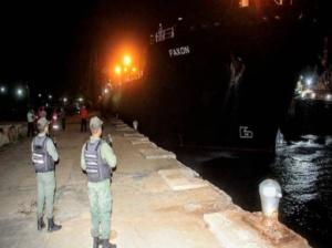 «Faxon» cuarto buque iraní llegó a refinería de Guaraguao en Anzoátegui