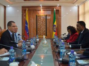 Venezuela y Etiopía celebran 70 años de relaciones diplomáticas