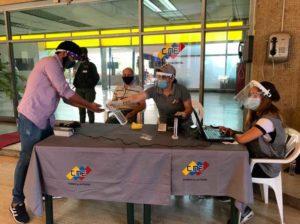 CNE calificó positiva participación del pueblo en Registro Electoral