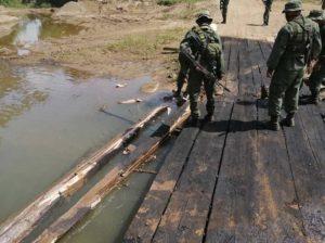 Ministro de Defensa denuncia ausencia de autoridades colombianas en la frontera