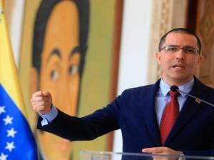 Arreaza: Mienten sobre Venezuela para promover reelección de Trump