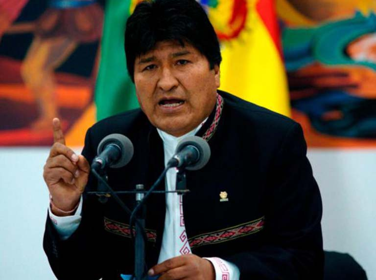 Evo Morales apoya justicia para víctimas del golpismo en Bolivia
