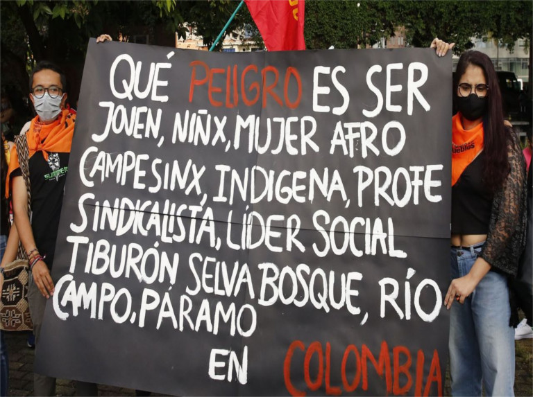 Moncada: 120.000 desaparecidos víctimas de la guerra sucia en Colombia