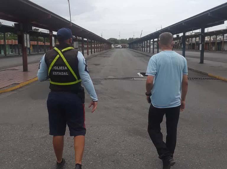 Verifican cierre del terminal de Pasajeros en Barquisimeto