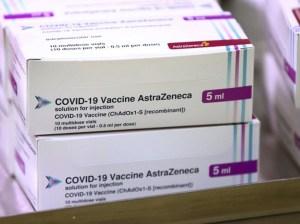 Agencia europea desestima efectos negativos de vacuna de AstraZeneca