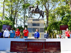 In Sucre the committee of the People's Congress was sworn in