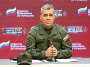 Padrino López: No permitiremos ningún grupo armado en Venezuela
