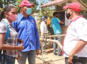 The activation of deep wells in the Tinaquillo municipality continues
