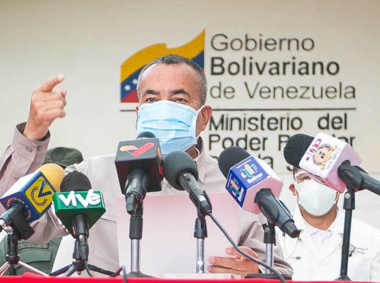 Gobernador de Bolívar anuncia cierre de El Callao
