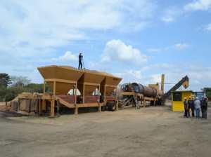 Inauguran nueva planta procesadora de asfalto en Guárico